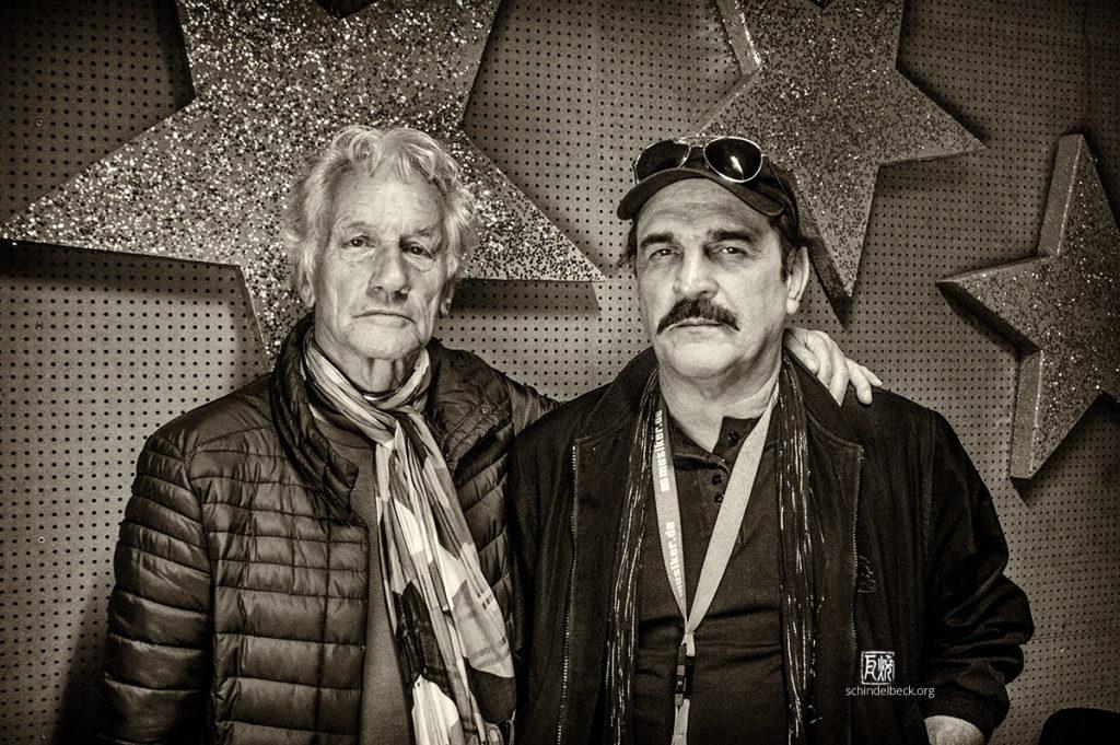 Foto: Mani Neumeier und Werner Goos